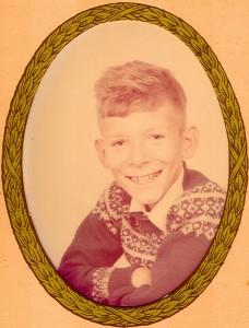 Et billede fra jeg var ca. 8 år... før jeg blev krum og kroget på både krop og sjæl.